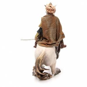 Cheval avec Roi crèche Angela Tripi 30 cm s3