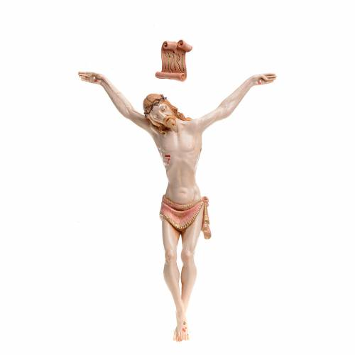 Christ en pvc 21 cm Fontanini type porcelaine s1