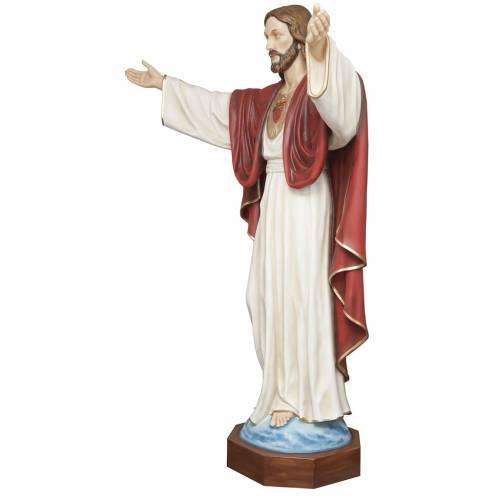 Christ rédempteur 200 cm fibre de verre s3