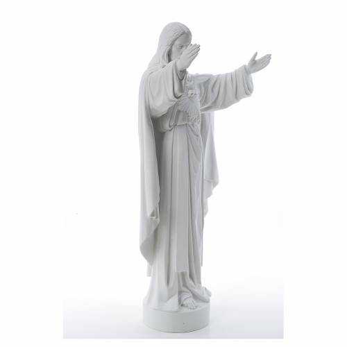 Christ the Redeemer statue in reconstituted Carrara Marble s4