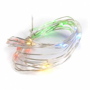 Christmas lights 20 LED multicolor for indoors s1