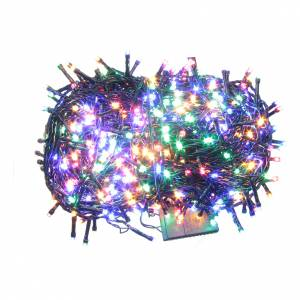 Éclairage Noël chaîne 1000 LEDS multicolores EXTÉRIEUR programmable s1