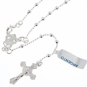 Rosarios de Plata: Collar rosario plata 800 cuentas 3 mm