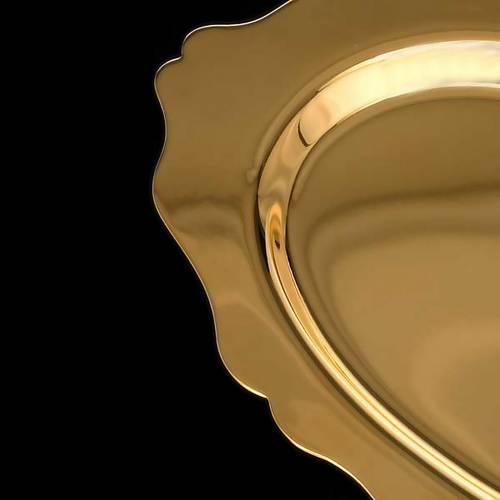 Communion plate in brass s4