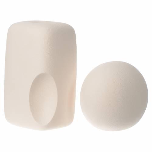 Composición grande Ceramica Centro Ave 24 cm s3