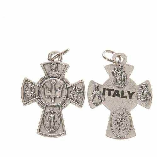 Confirmation cross, saints and Holy Spirit s1