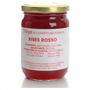 Confitures et marmelades: Confiture de groseilles rouges 310 g Carmélites