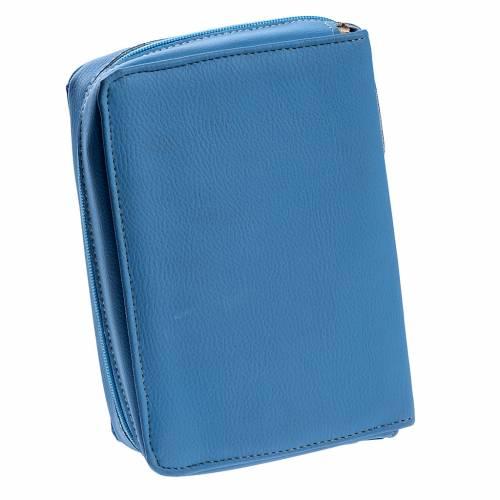 Copertina Bibbia Gerusalemme azzurro SS. Trinità s4
