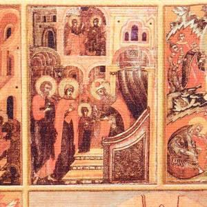 Custodie per lezionari: Copri lezionario cuoio tela Gesù