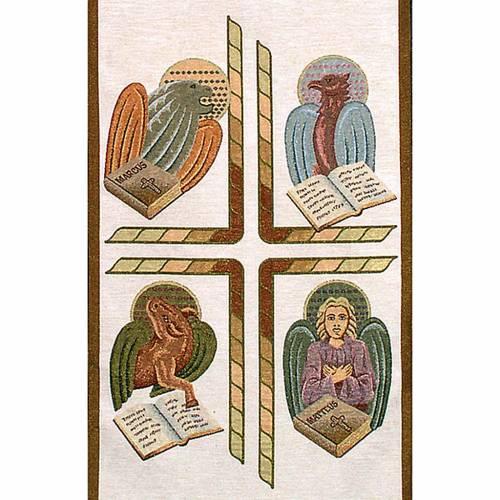 Coprileggio 4 evangelisti sfondo colori vari s3