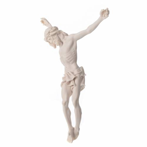 Corps Christ 37 cm poudre de marbre fin. neutre s8