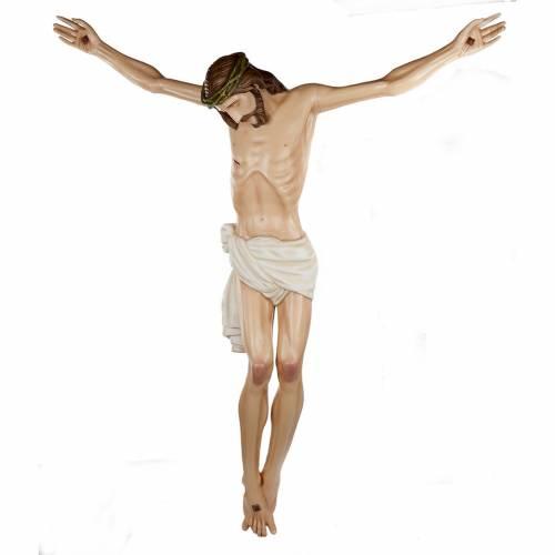 Corps de Christ 150 cm statue fibre de verre s1