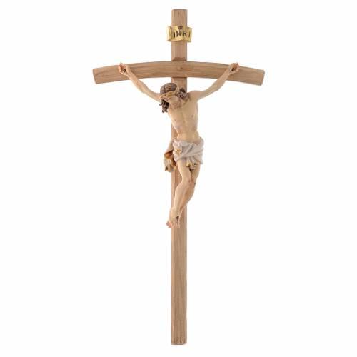 Corps de Christ, veste blanche sur croix pliée s1