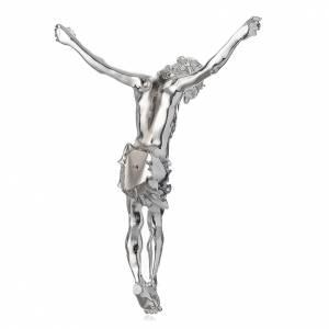 Corps du Christ en poudre de marbre fin. argentée s4
