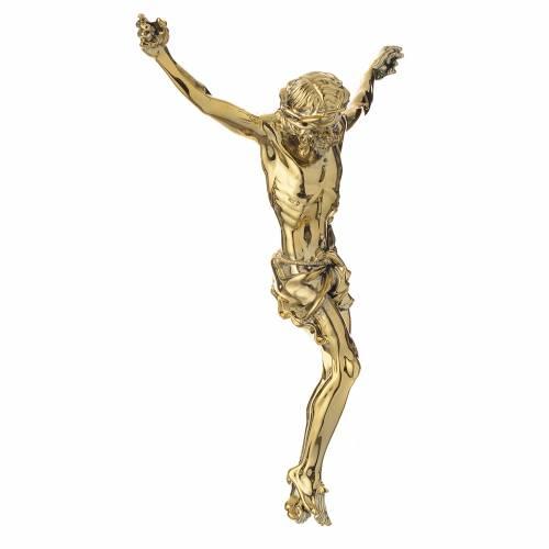 Corps du Christ en poudre de marbre fin. dorée s3