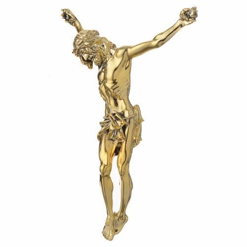Corps du Christ en poudre de marbre fin. dorée s2