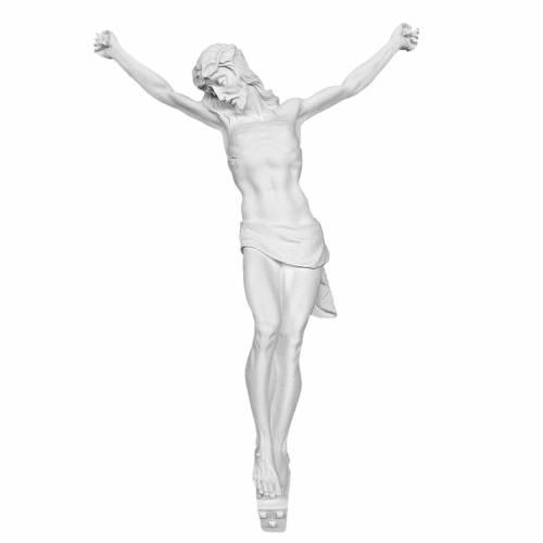 Corps du Christ marbre blanc extérieur s1