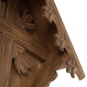 Country cross in spruce wood, Val Gardena s6