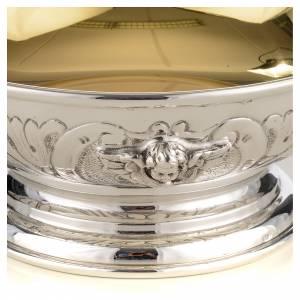 Coupe de communion argent 800 décor ange s4
