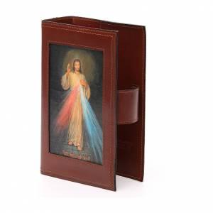 Couv. Lit. Heures 4 vol. cuir brun Miséricorde Pictographie s2