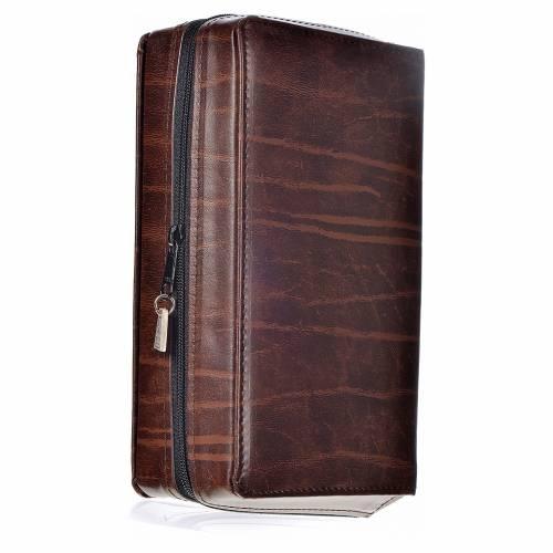 Couverture 4 vol. cuir brun foncé s3