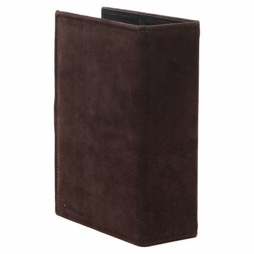 Couverture en daim 4 volumes brun s3