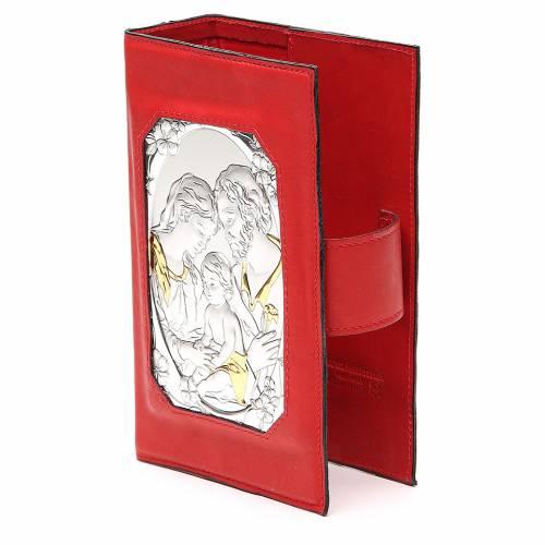 Couverture Lit. 4 vol. aimantée Ste Famille métal rouge s2