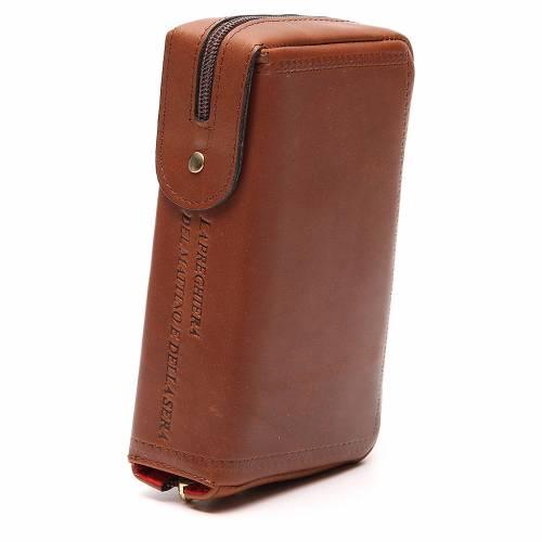 Couverture Lit. Vol. unique cuir brun s4
