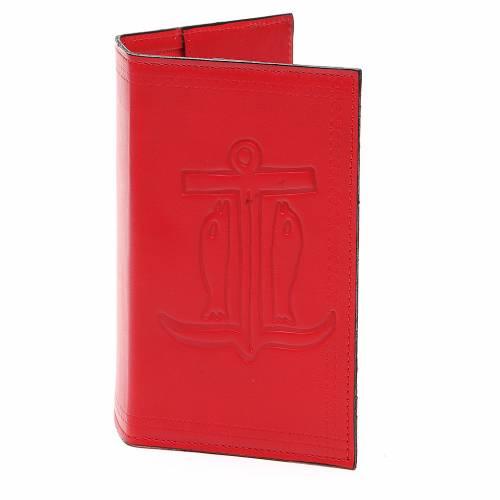 Couverture Lit. Vol. unique cuir rouge Ancre de Salut s1