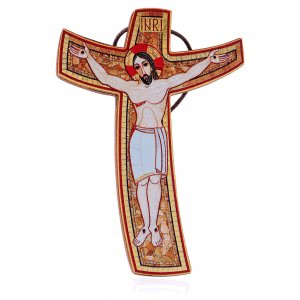 Croce Rupnik 15x10 cm s1