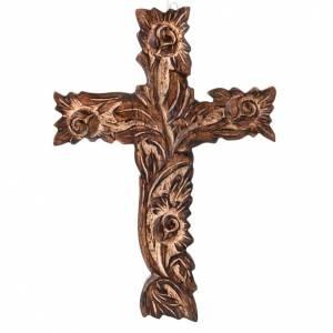 Crocifisso legno scolpito s1