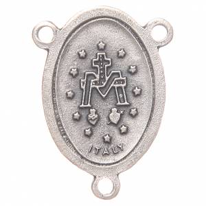 Crociera ovale Madonna Miracolosa 2,4 cm s2