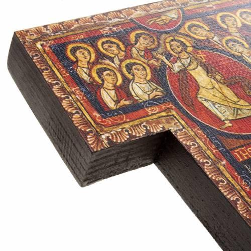 Crocifisso legno San Damiano misure diverse s6