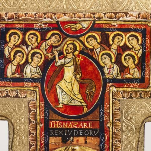 Crocifisso San Damiano stampa su legno s3