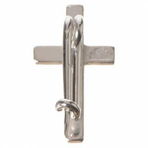 Croix de Clergyman: Croix de clergyman argent 925 h 1.8 cm
