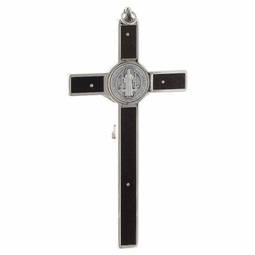 Croix de St. Benoît en bois s4