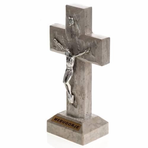 Croix Medjugorje marbre 19x10,5 s2