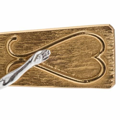 Croix métal décoré s2