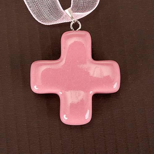 Croix pendentif carrée s3
