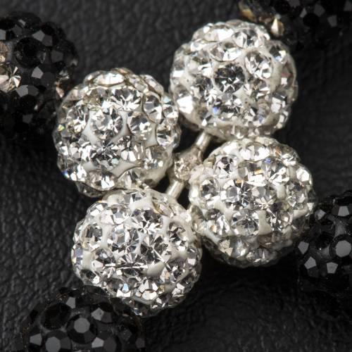 Cross with Swarovski pearls, 3 x 3,5 cm s3