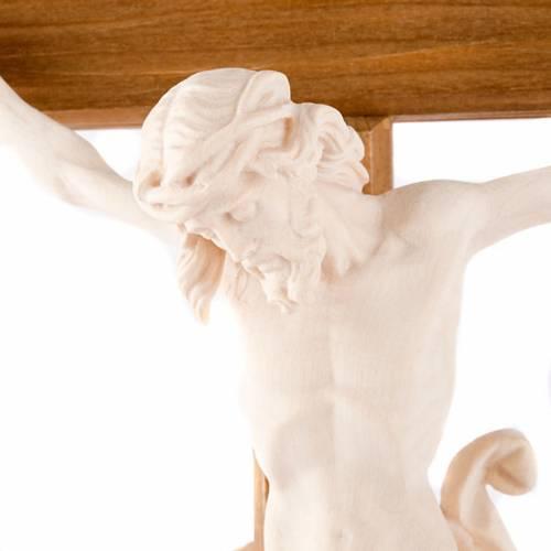 Crucifijo de madera natural s2