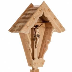 Crucifix in larch wood, Val Gardena s7