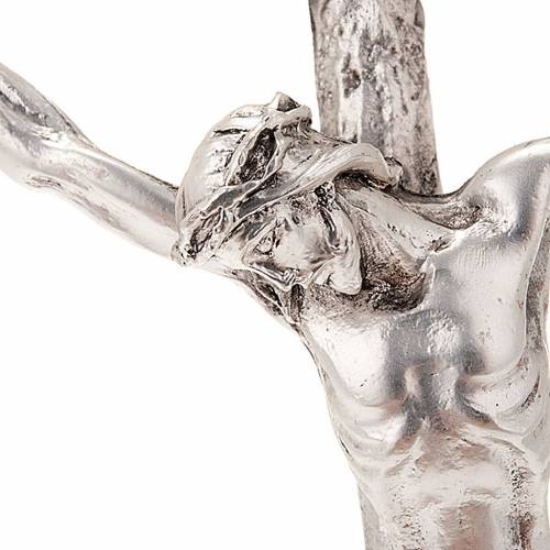 Crucifix, Pope John Paul II pastoral cross 12x28cm s2