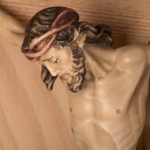 Cruz campo alerce con cuerpo de Cristo Val gardena s16