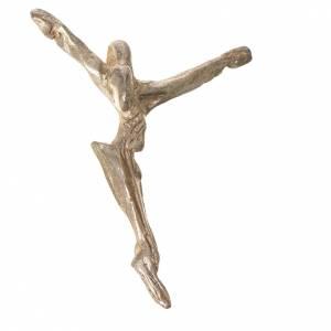 Colgantes, cruces y broches: Cruz de plata de ley figurada
