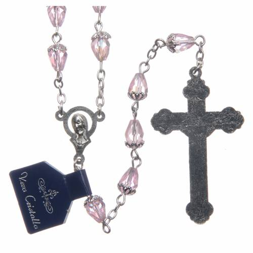 Crystal rosary drop-shaped beads s2