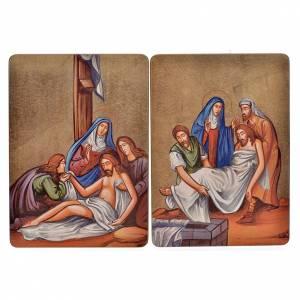 Cuadro 15 Estaciones Vía Crucis madera s3