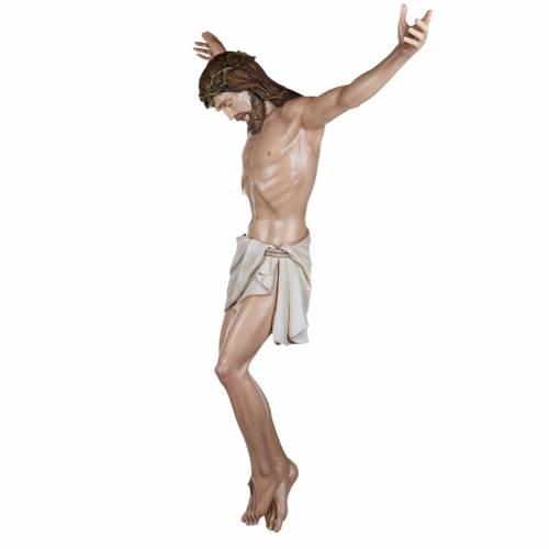Cuerpo de Cristo  160cm en fibra de vidrio s8