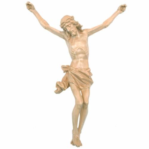 Cuerpo de Cristo modelo Corpus madera Valgardena patinada s1