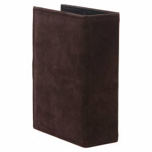 Custodia scamosciata 4 volumi marrone s3